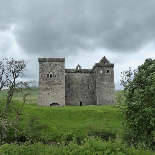 """""""Hermitage Castle"""" stock image"""