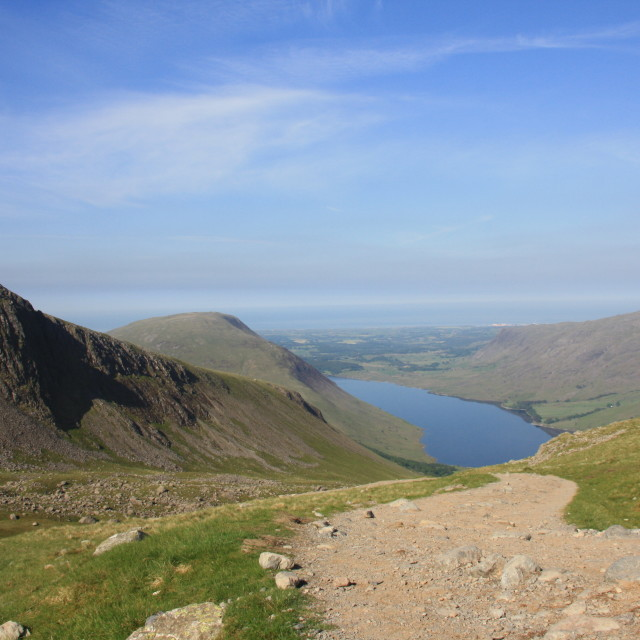 """Scafell Pike"" stock image"