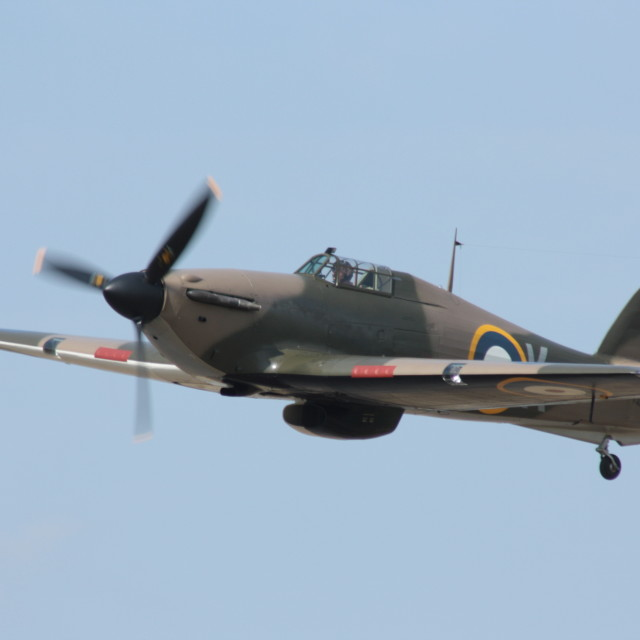 """Hawker Hurricane"" stock image"