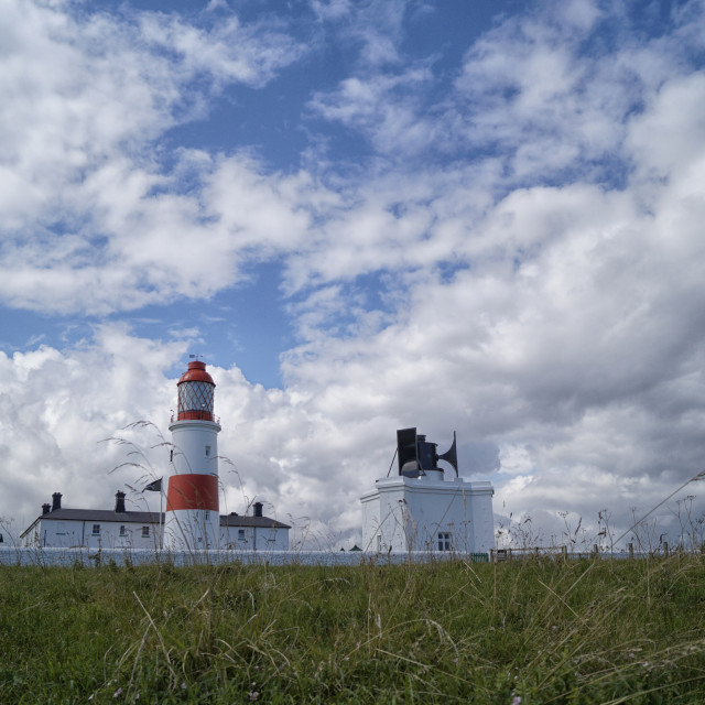 """Souter Lighthouse"" stock image"