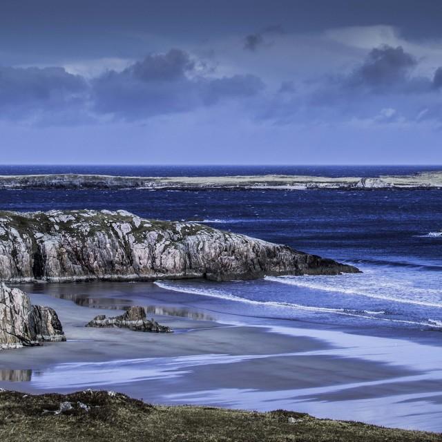 """""""Durness beach"""" stock image"""