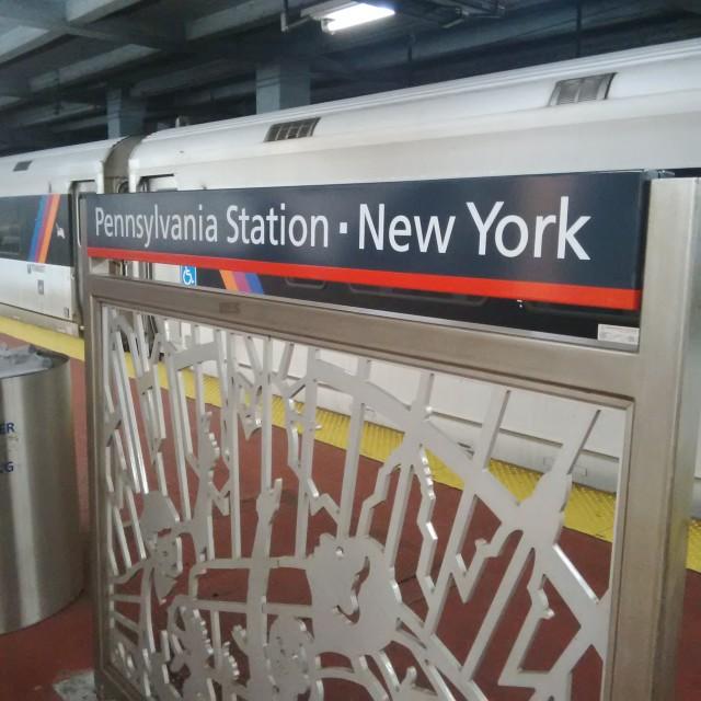 """""""Penn Station"""" stock image"""