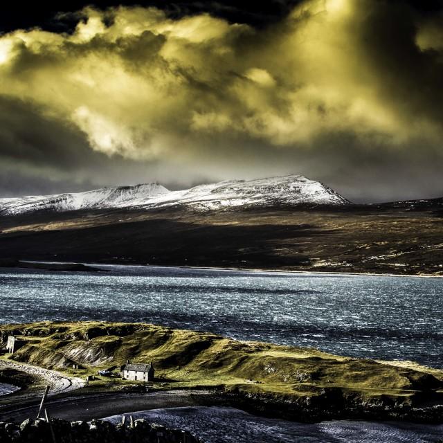 """""""Loch Eriboll"""" stock image"""