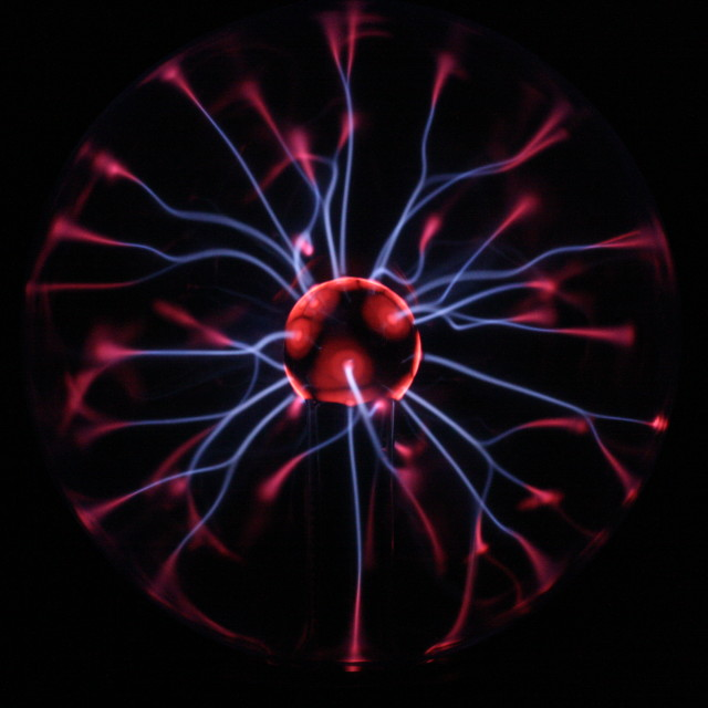 """Plasma ball"" stock image"