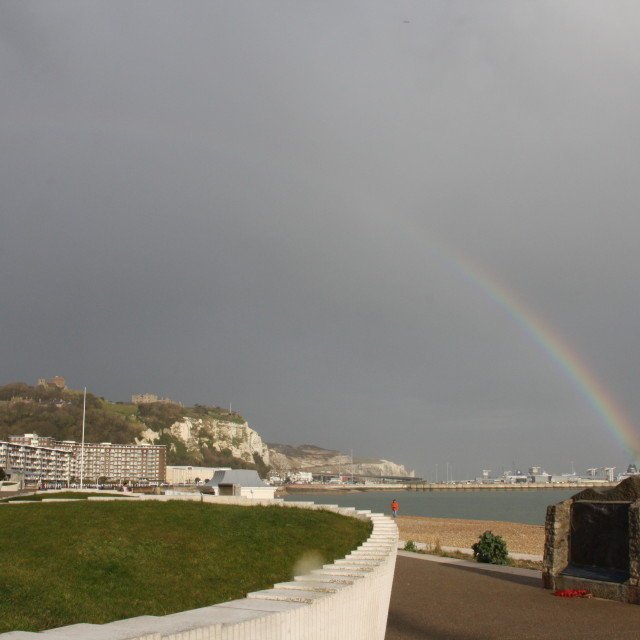 """Dover rainbow"" stock image"