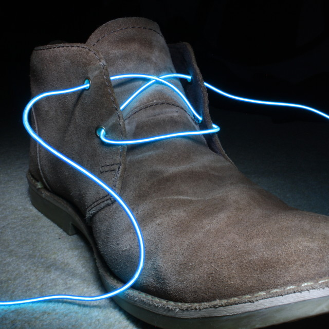 """Electric shoes"" stock image"
