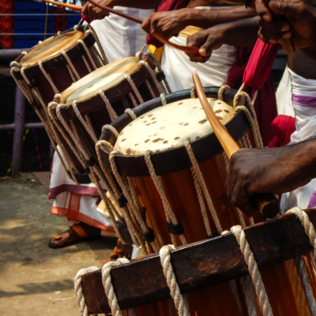 """Drum beat"" stock image"