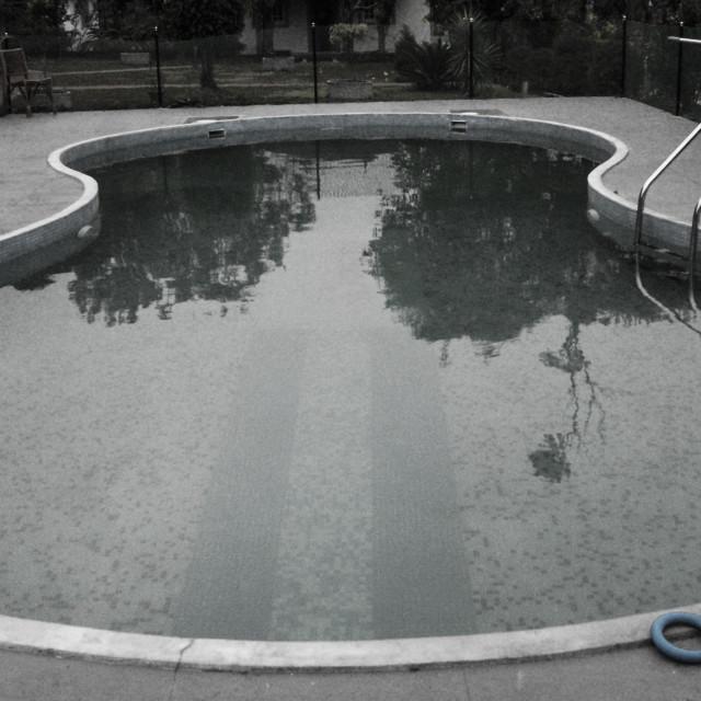 """Swimming pool"" stock image"