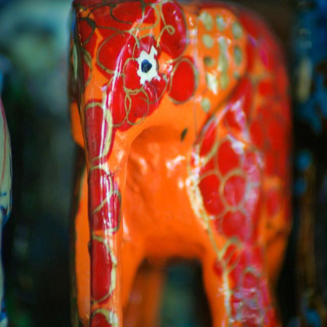 """""""Elephant gift"""" stock image"""