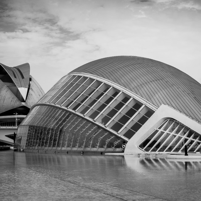"""City of Arts & Sciences, Valencia"" stock image"