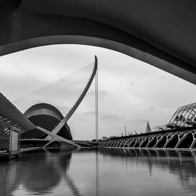 """City of Arts & Sciences"" stock image"