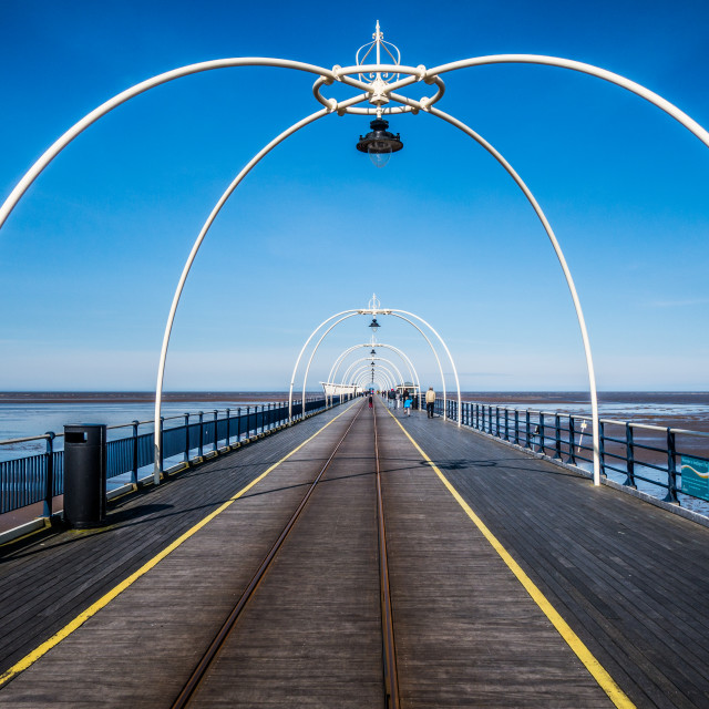 """Southport Pier"" stock image"