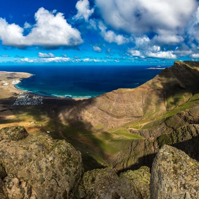 """""""Volcanic Panorama"""" stock image"""