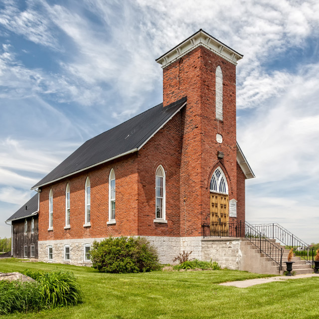 """Conway United Church"" stock image"