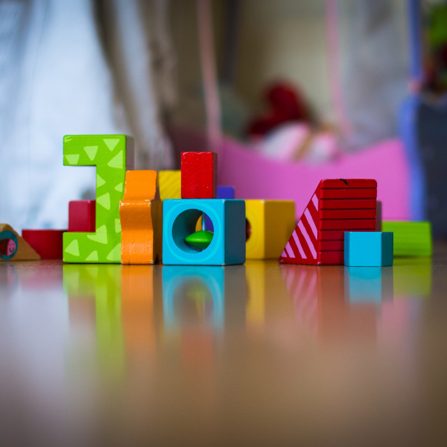 """Toy Blocks"" stock image"