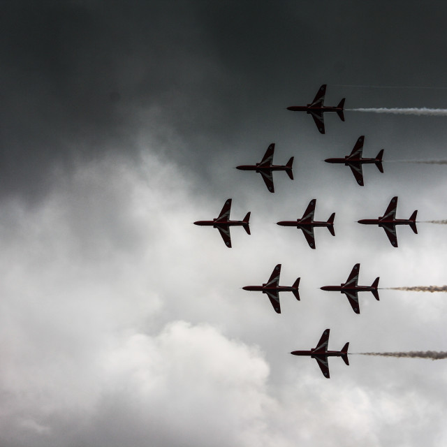 """Renault Flight Team"" stock image"