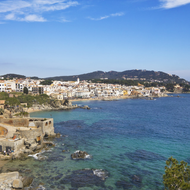 """""""Calella of Palafrugell"""" stock image"""
