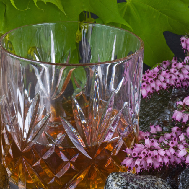 """Scotch on the Rocks"" stock image"