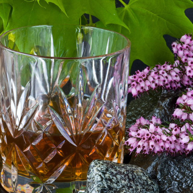 """Scotch on the Rocks"" stock image"
