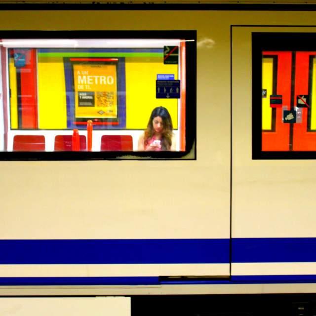 """Metro girl."" stock image"