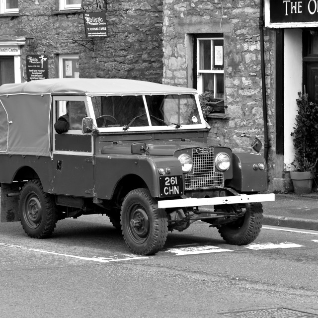 """""""Series One Land Rover 88"""" SWB"""" stock image"""