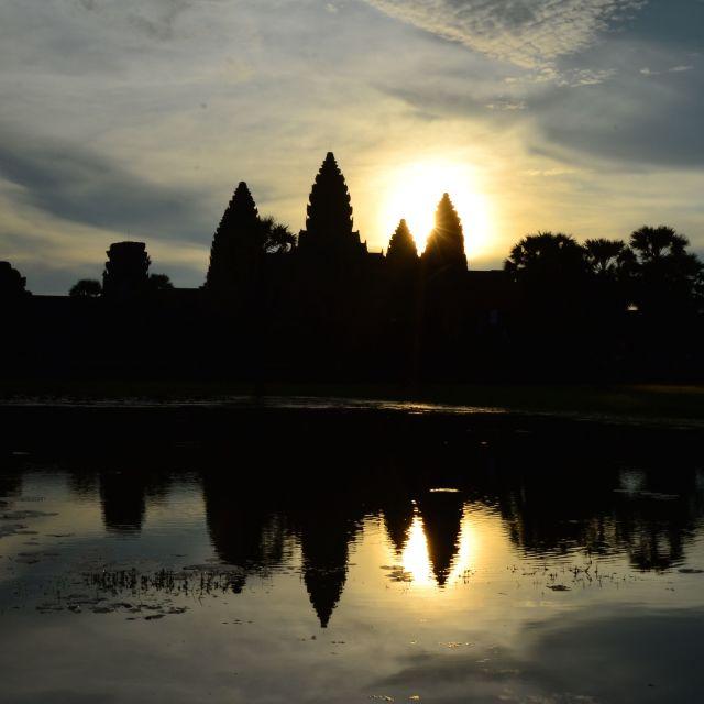 """Angkor Wat Morning"" stock image"