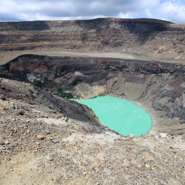 """Santa Ana (Ilamatepec) Volcano, El Salvador"" stock image"
