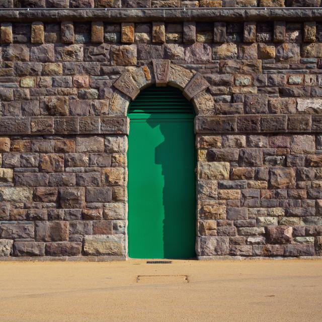 """Coloured Doors"" stock image"