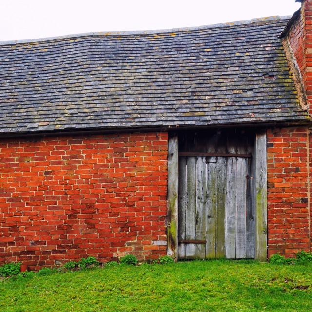 """""""Ramshackle Barn"""" stock image"""