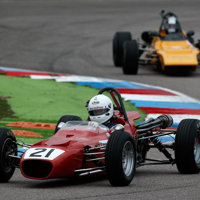 """""""Classic Racing Car"""" stock image"""