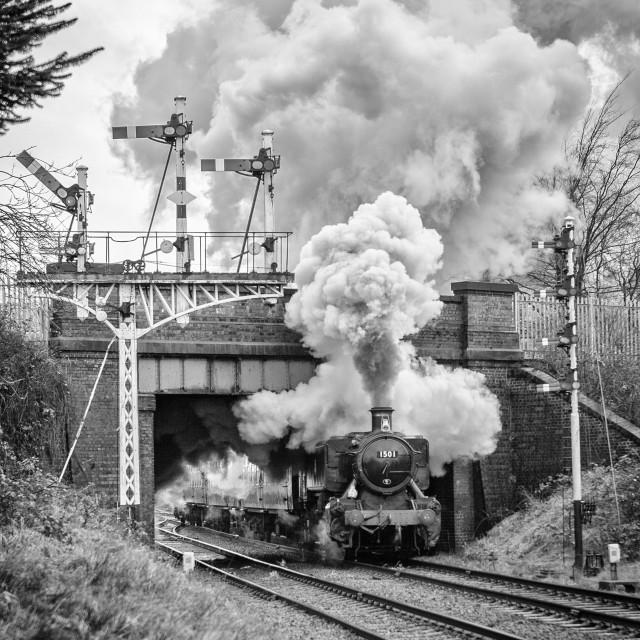 """GWR No.1501"" stock image"