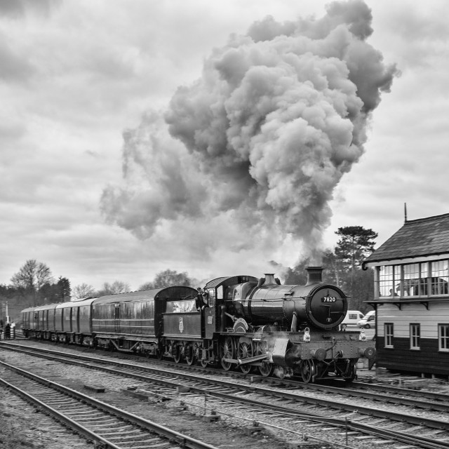 """GWR No.7820 Dinmore Manor"" stock image"