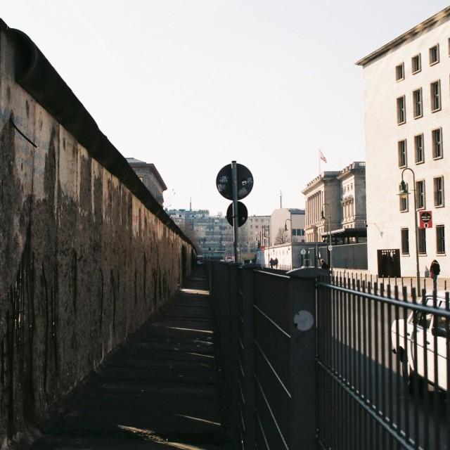 """The Wall, Berlin"" stock image"