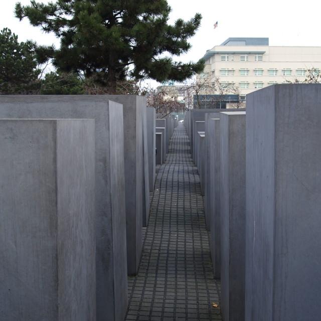 """""""Berlin Holocaust Memorial"""" stock image"""