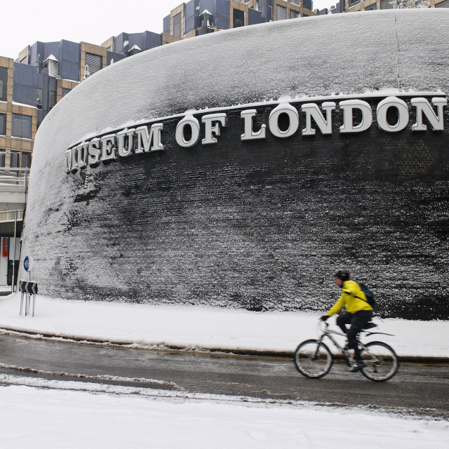 """Museum of London"" stock image"