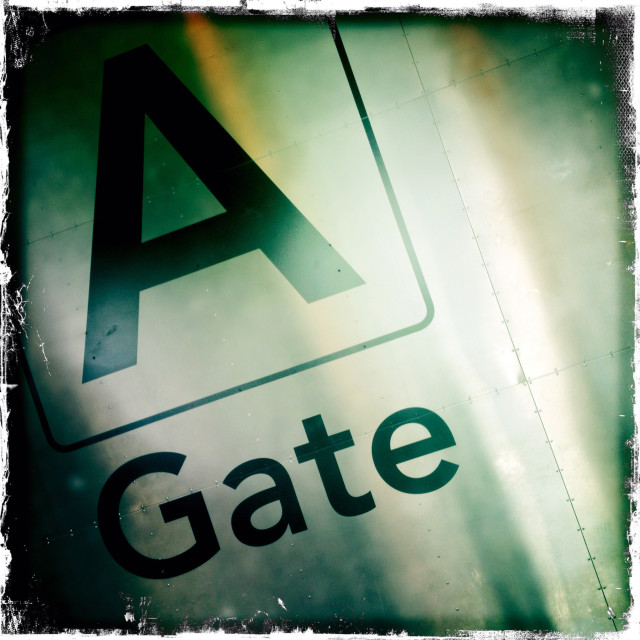 """GATE"" stock image"