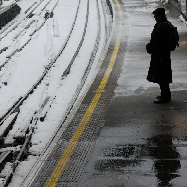 """Farringdon Tube Station, London"" stock image"