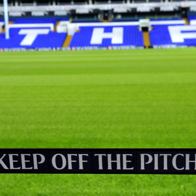 """Tottenham Hotspur Football Ground"" stock image"