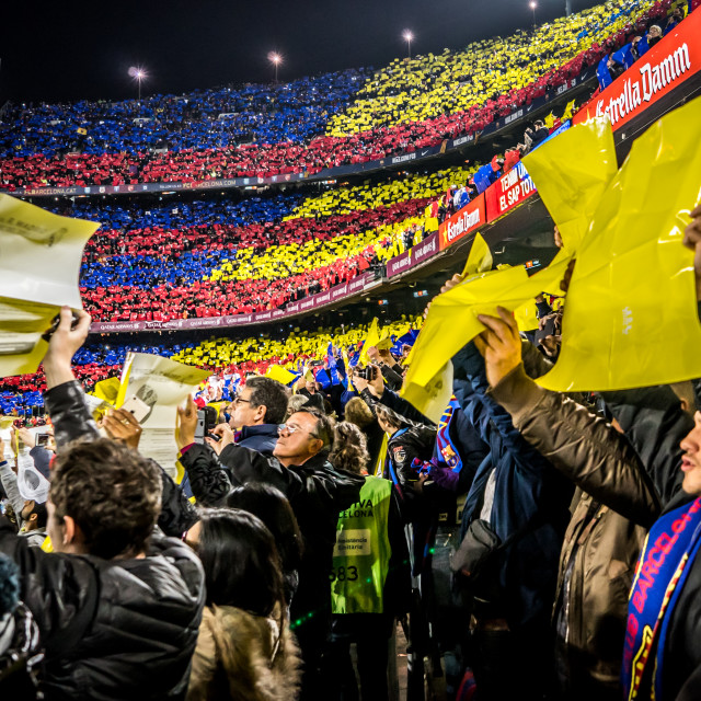 """Crowd Mosaic - FCB"" stock image"