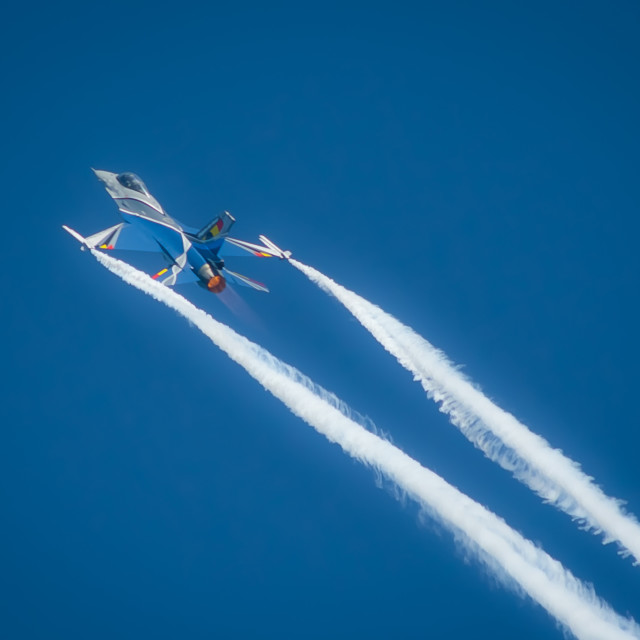 """flying jet"" stock image"