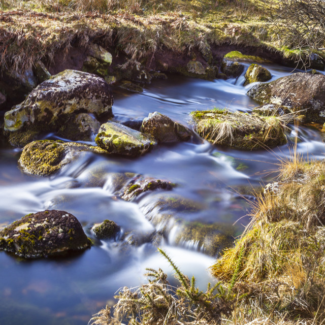 """A Babbling Brook"" stock image"