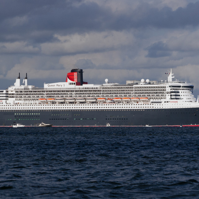 """""""Queen Mary 2"""" stock image"""
