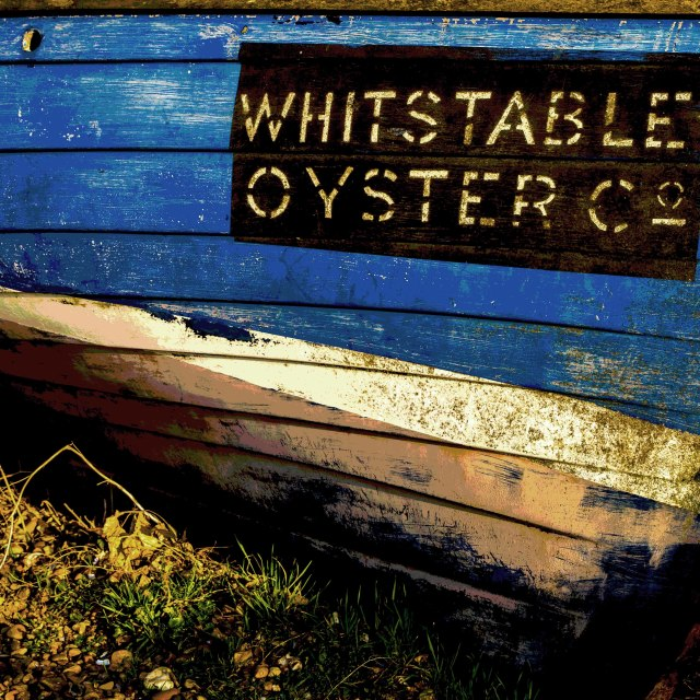 """Whitstable Oyster Co."" stock image"