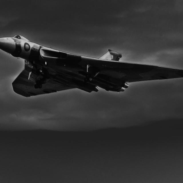 """""""Vulcan Bomber #3"""" stock image"""