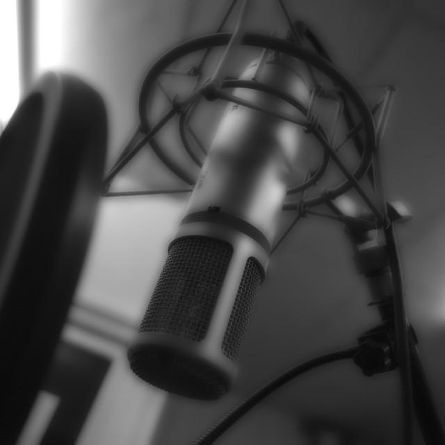 """Microphone."" stock image"