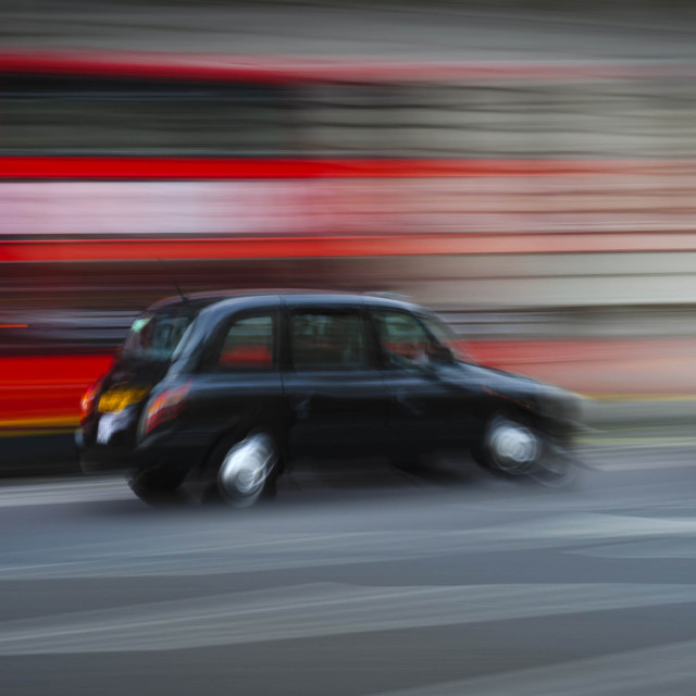 """Taxi Ride"" stock image"