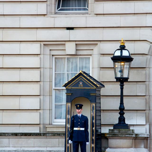 """""""Buckingham Palace"""" stock image"""