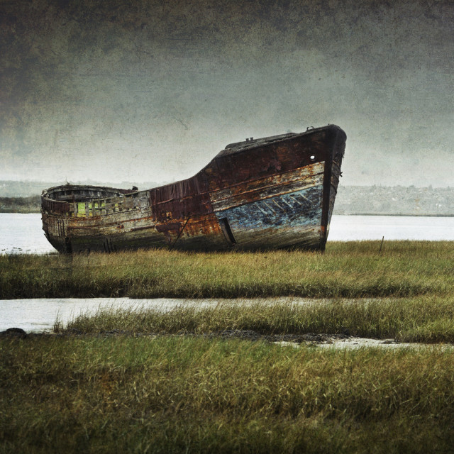 """Old Wreck"" stock image"