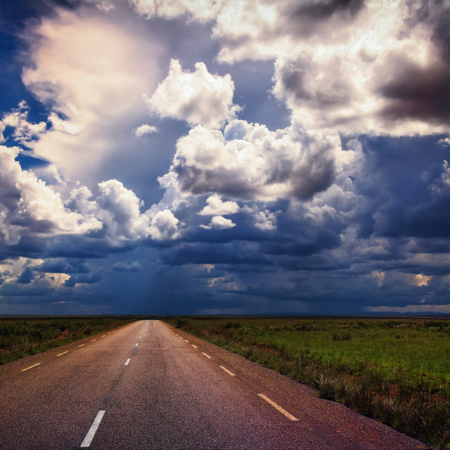 """""""Raindance horizons"""" stock image"""