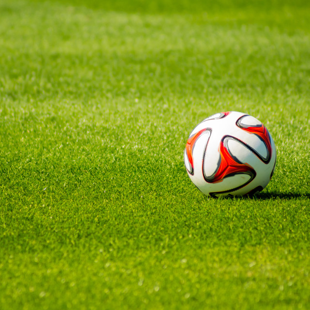 """A Soccer Ball"" stock image"